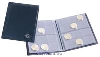 Карманный альбом для монет Pocket M2BL. 8 листов на 12 монет диаметром до 33 мм